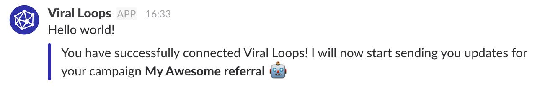 viral Loops slack