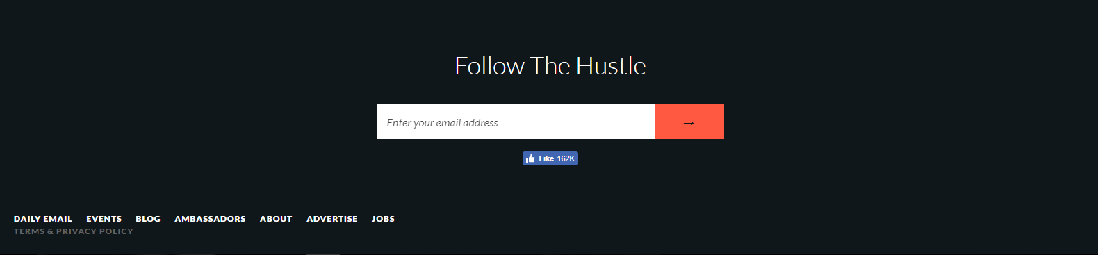 Hustle's milestone referral program