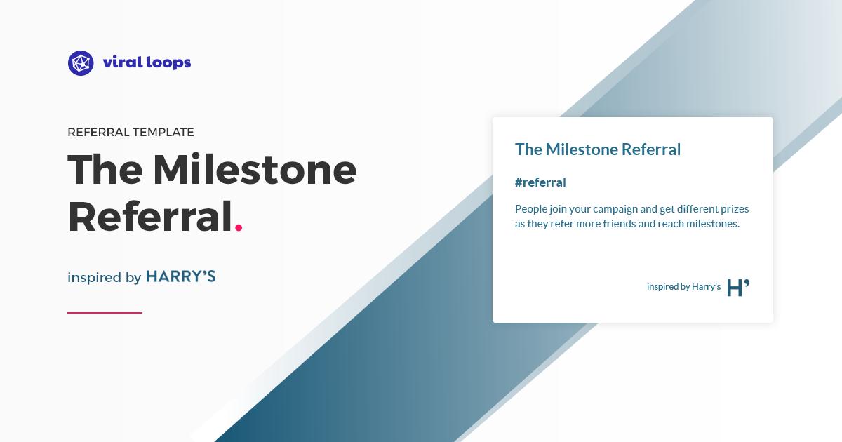 milestone referral viral loops joeywears