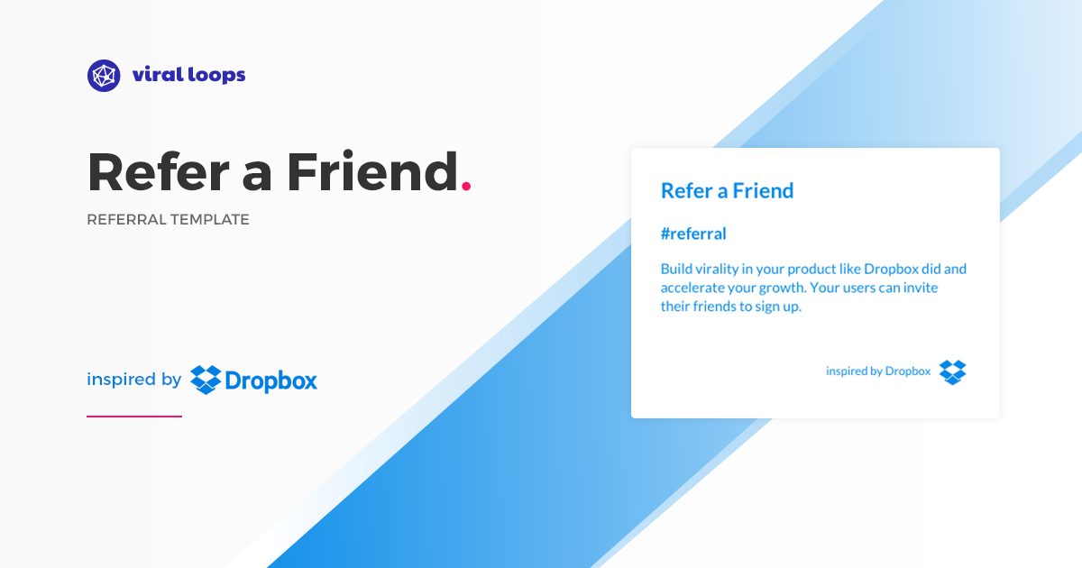How Dropbox grew 3900% with a simple referral program ...