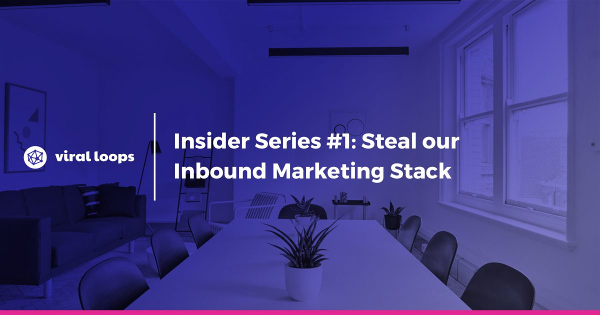 inbound marketing stack