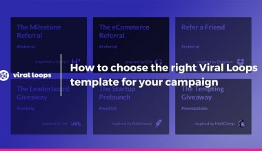 viral loops templates for your campaign
