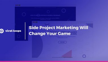 Side Project Marketing Will Change Your Game