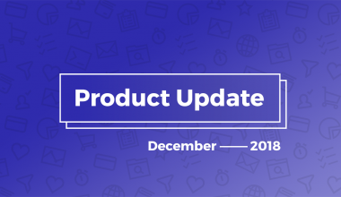 product update decemper 2018