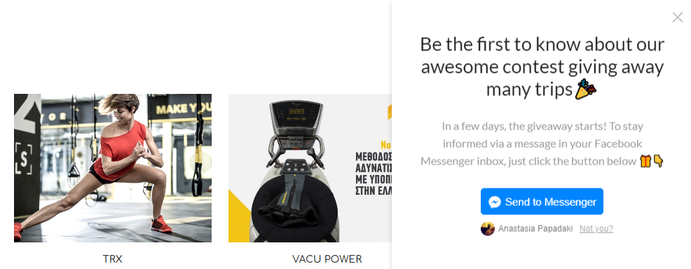 35K leads in 20 days with a Messenger referral