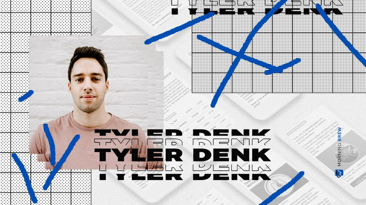 Tyler Denk interview about morning brew's referral program