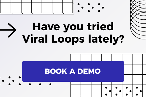 viral loops book a demo