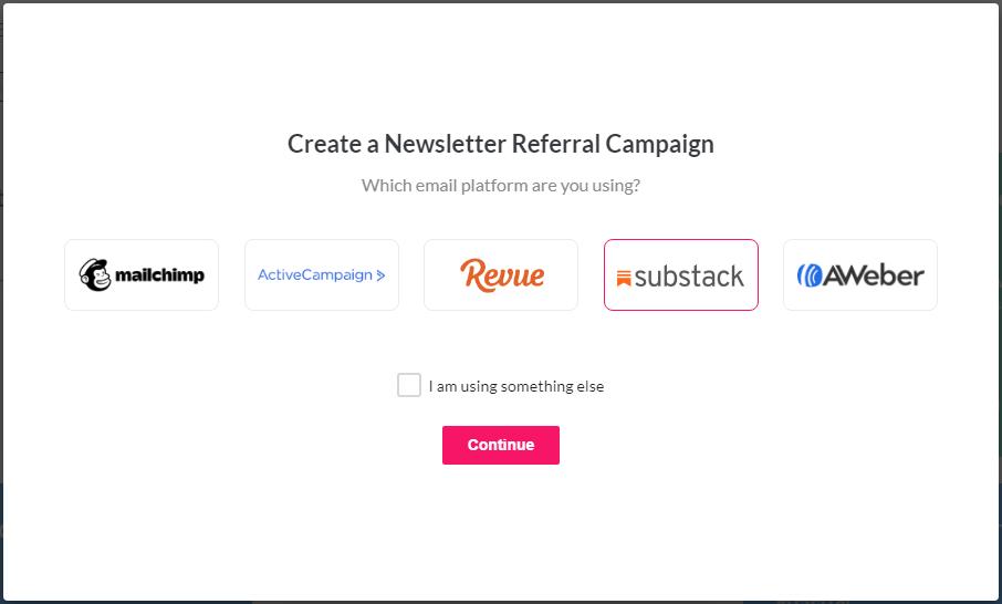 choose substack platform