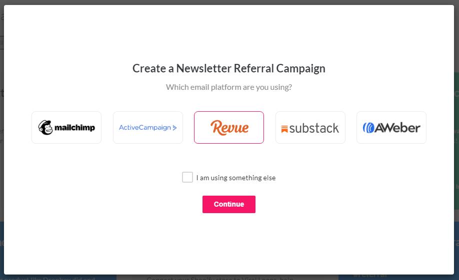 select email platform