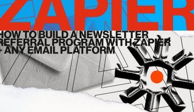 How to build a newsletter referral program with Zapier and any email platform