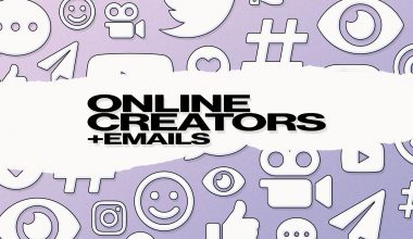 Why online creators need email addresses