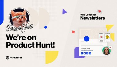 Viral Loops for Newsletters is LIVE on Product Hunt!