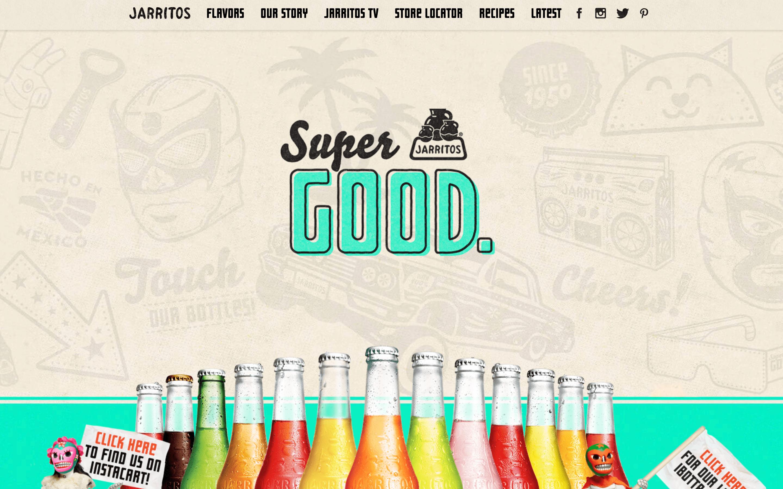 Jarritos Homepage