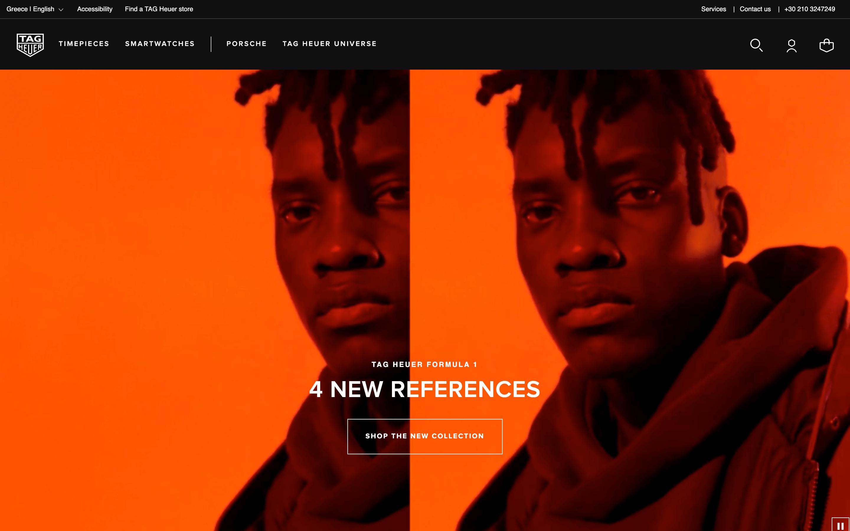 TAG Heuer Homepage