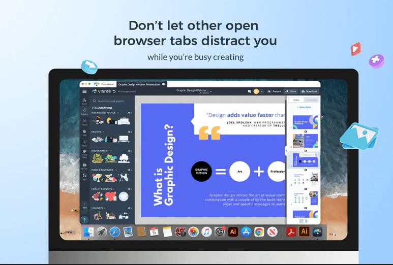 Visme for Desktop Product Hunt Image