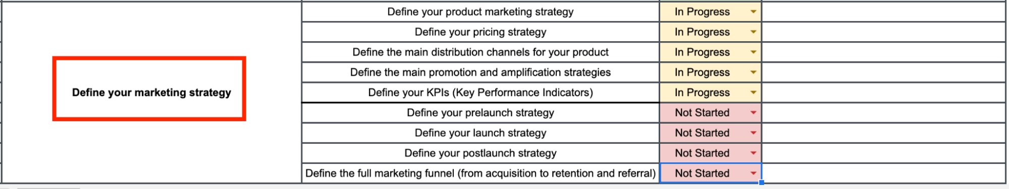 defining your marketing strategy