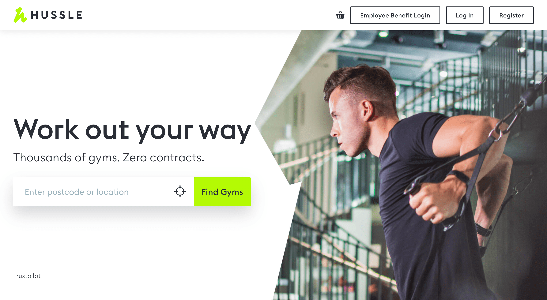 Hussle Homepage